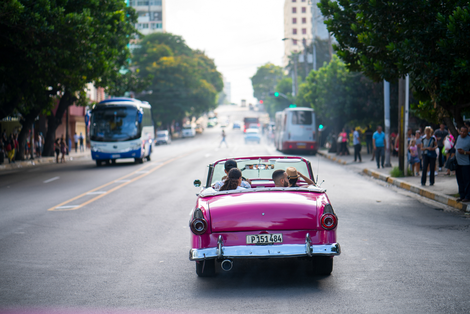 I also made a blog post about this image which truly explained our first days experience in Cuba. You can read more about it  here .