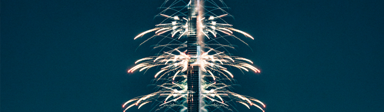burj khalifa new years eve fireworks ausitn paz