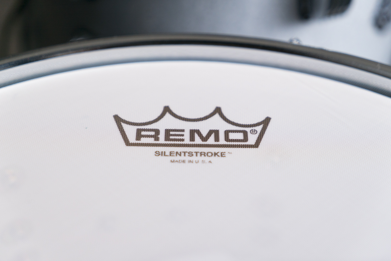 remo silent stroke Ludwig Breakbeats Roland hybrid electric drum kit austin paz