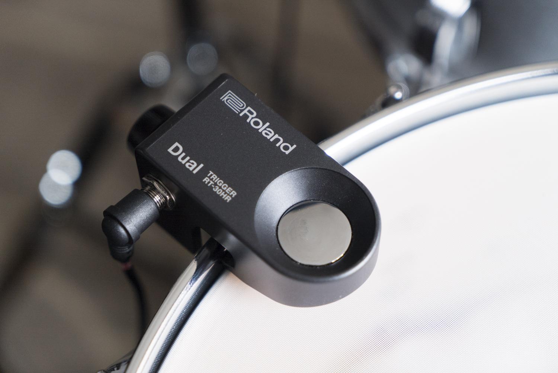 roland rt30 drum trigger hybrid accoustic electric drum kit austin paz