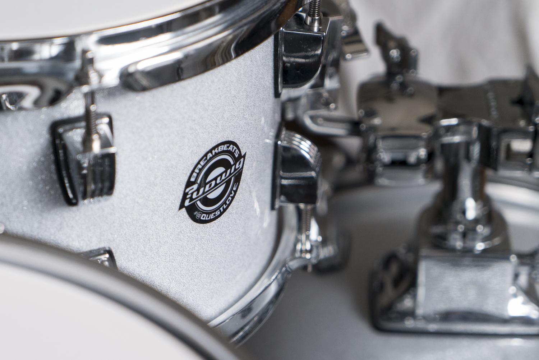 Ludwig Breakbeats Roland hybrid electric drum kit austin paz