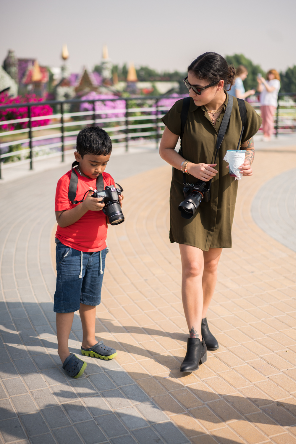 We saw this little guy taking pictures and asked him to get a shot of us. I didn't get to see it but Amanda approved of the photo.  Sony A7RII, Zeiss 55mm f/1.8 (iso100, f/1.8, 1/3200s)