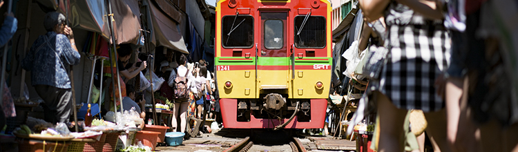 maeklong train market austin paz thailand photography