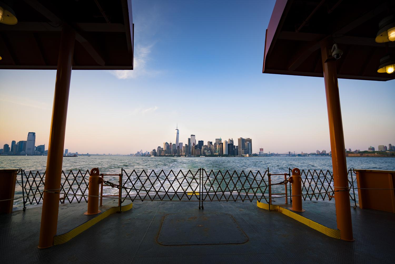 staten island ferry manhattan skyline nyc austin paz