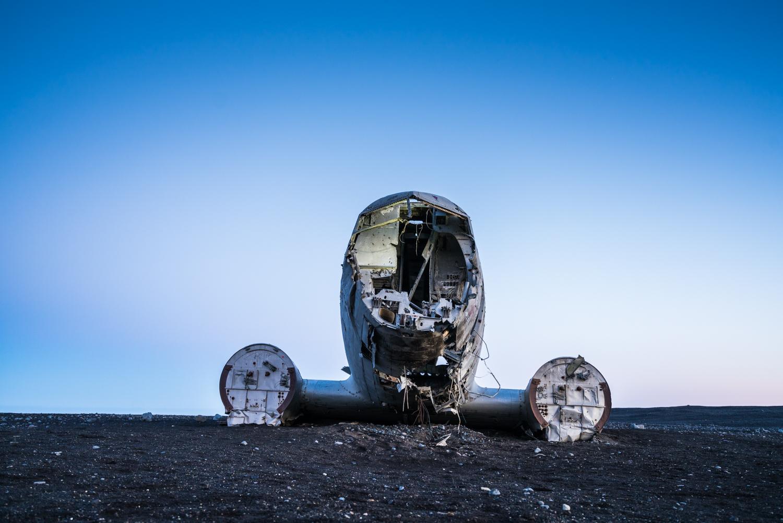 Iceland DC3 plane crash travel photography austin paz