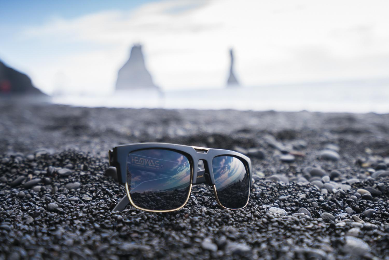 heatwave visual sunglasses vik black sand beach