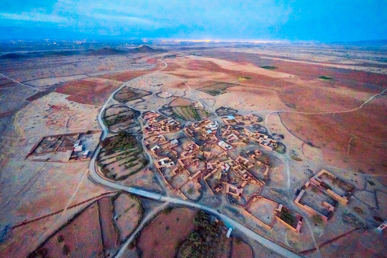 morocco hot air balloon