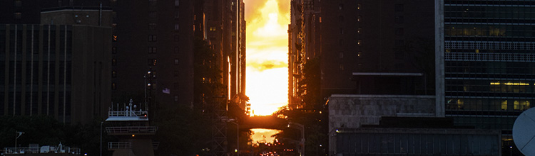 manhattanhenge photography