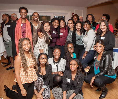 Guilford ABC Alumnae and Current Scholars at Fall 2014 Reunion