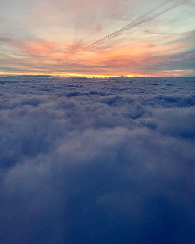 Head in the clouds...⛅️💙