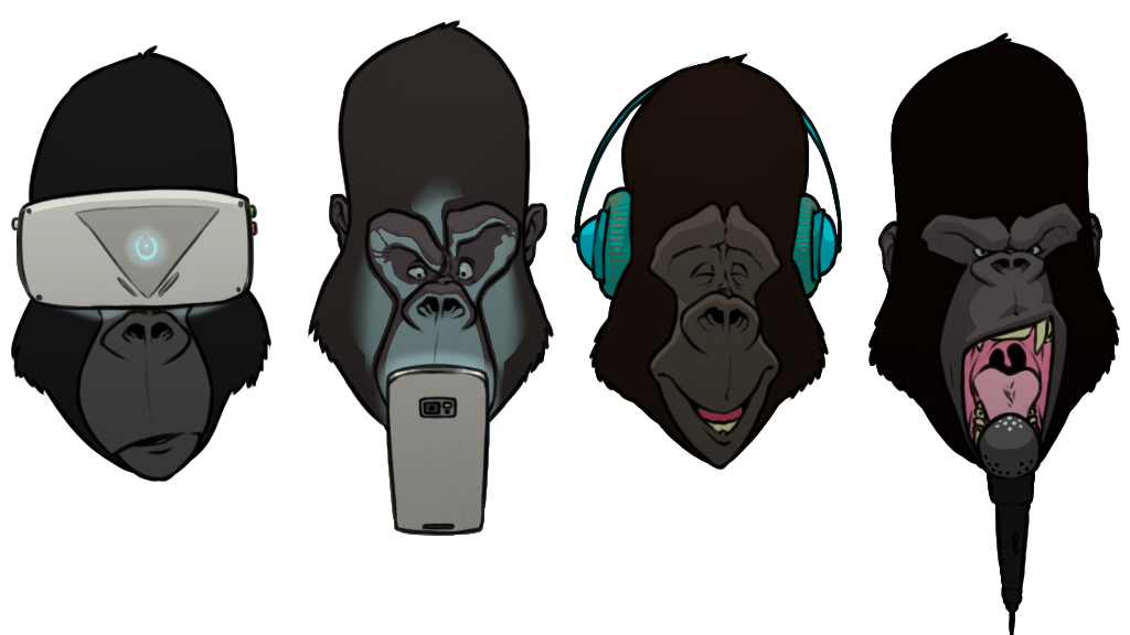 'The 4th Gorilla' by Joey McIntosh