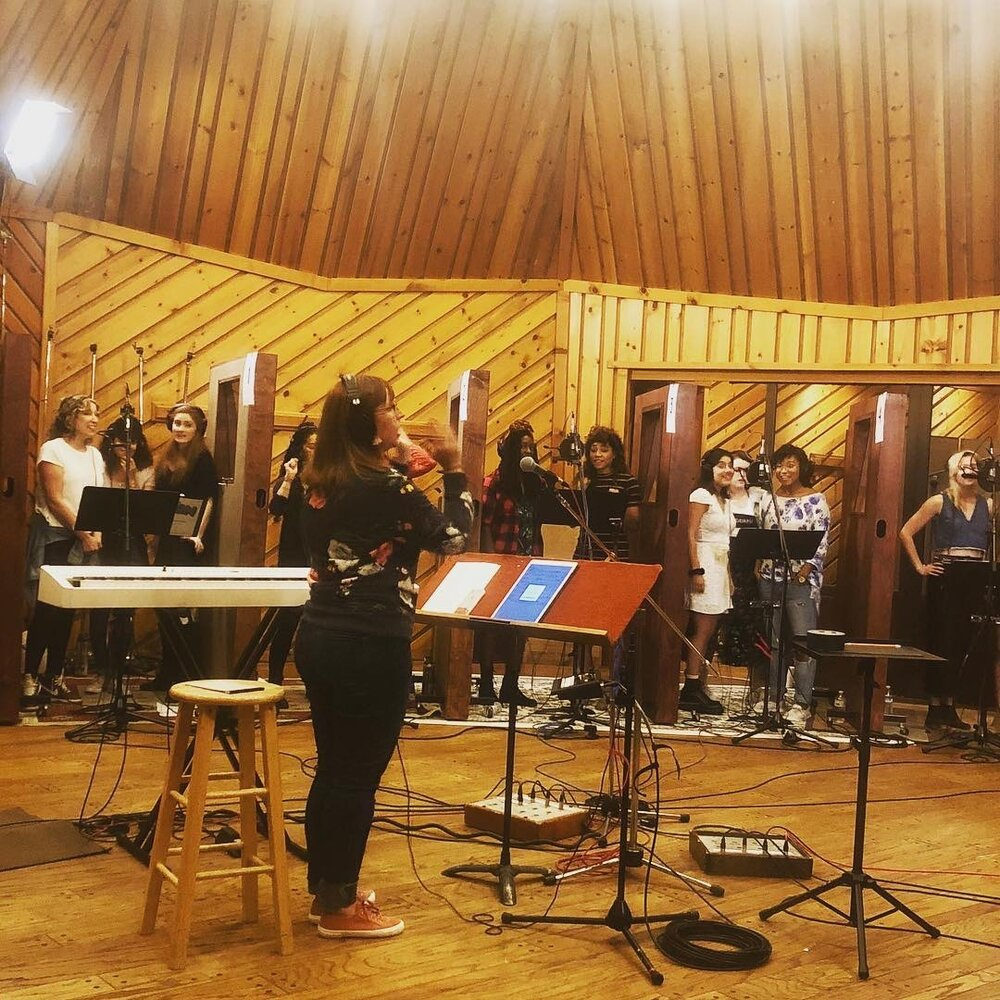 Recording the Prom Album @ Power Station