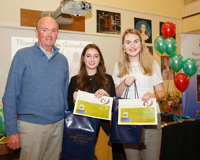 Niamh Coughlan Memorial Award: Lauren O'Sullivan & Eabha Walsh