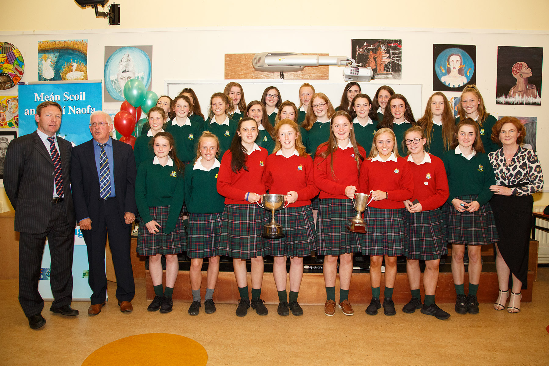 Team of the Year : Junior Junior B Camogie All Ireland Champions