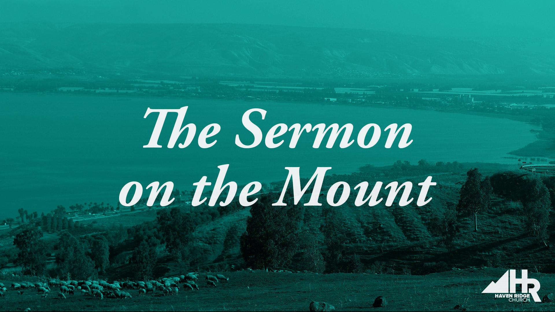 The Sermon on the Mount -