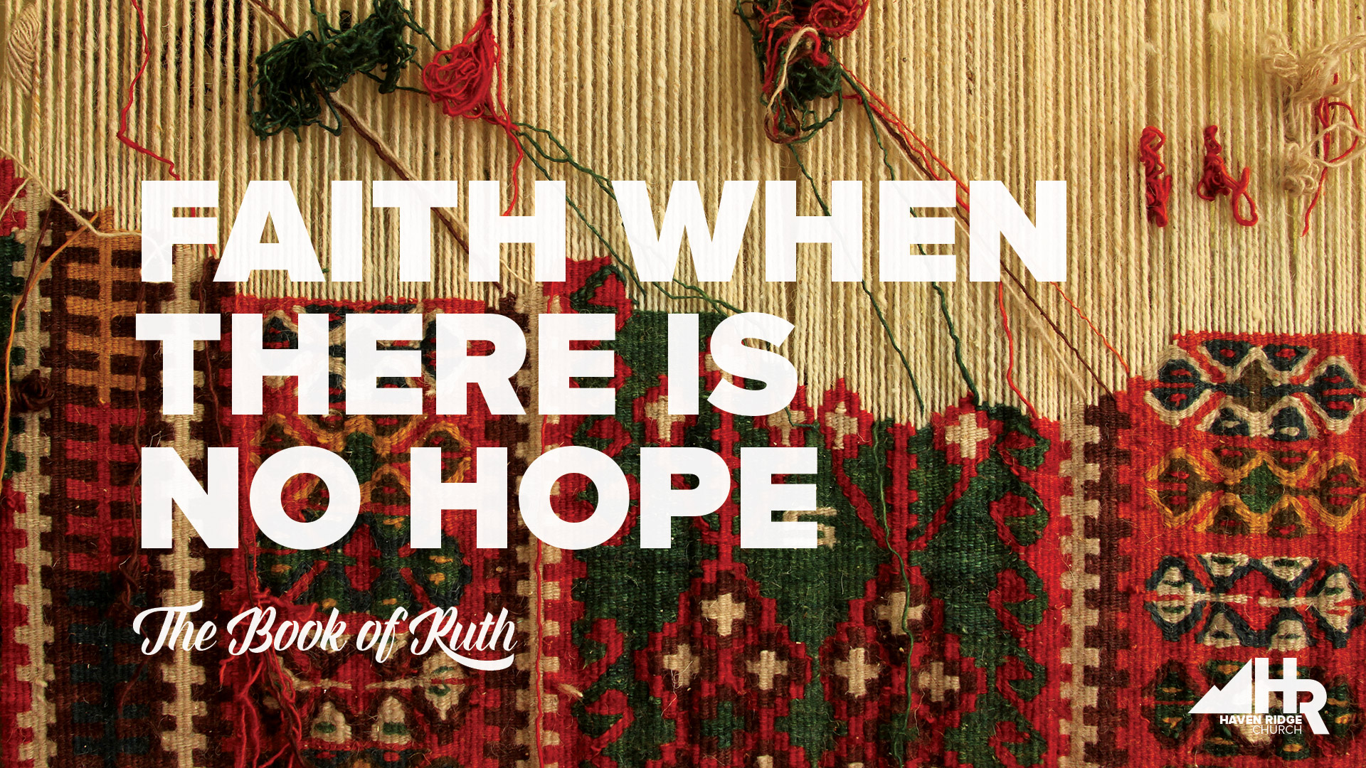 The Book of Ruth -