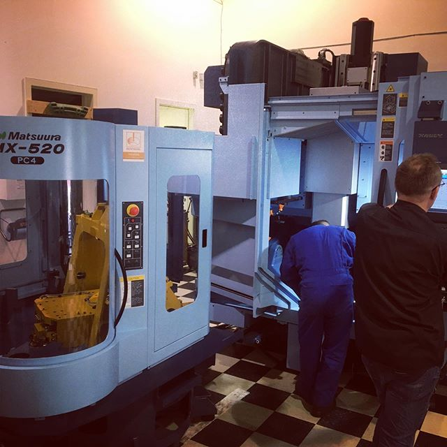 Getting closer to having one of the most advanced 5-Axis machines available ready to take our aerospace game to the next level!