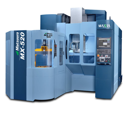 OUR NEW MATSUURA MX-520 PC4!!
