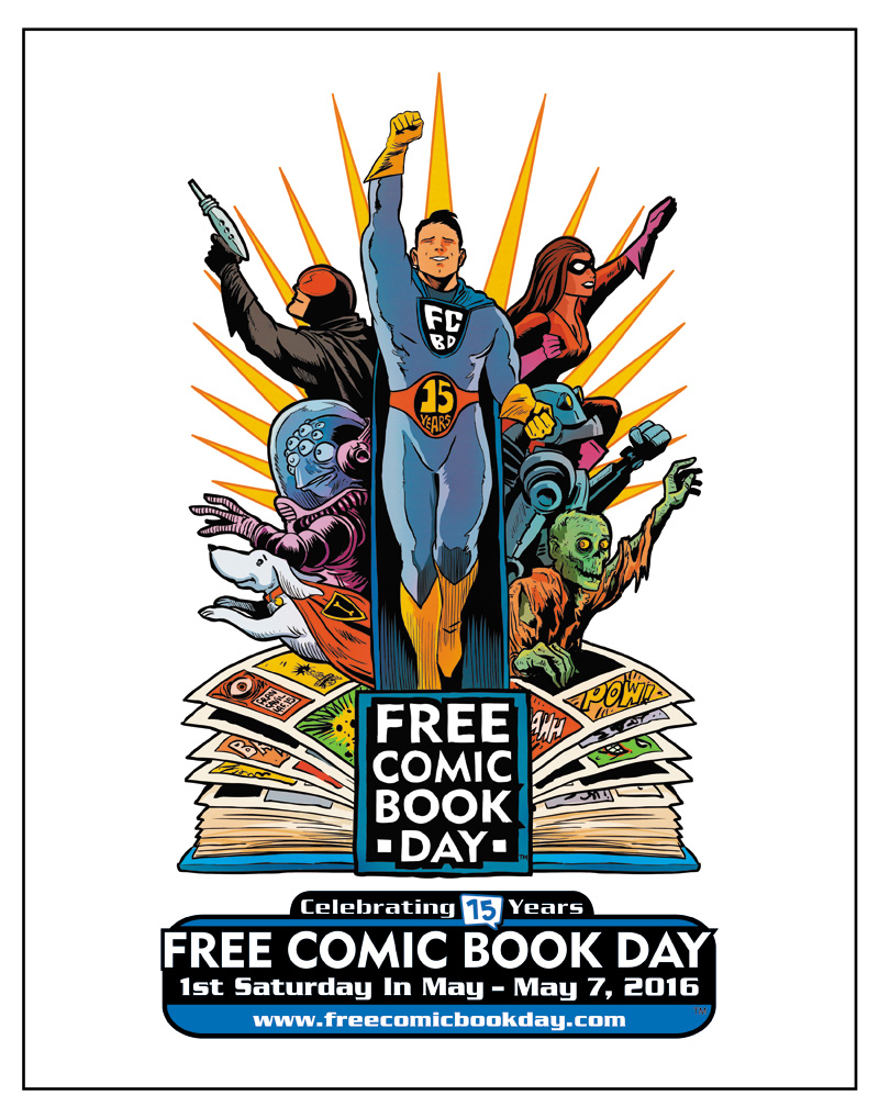 Come join us on May 7th for the most fun anyone can cram into 1 day. Its the Avondale May-Ham and Free Comic Book Day all in one action packed day. We will have a store wide sale in the comic store, 25% off of everything. Lots of guest artist, cosplay contest, kids activites and all the free comics. Thats just on the Free Comic Book side of the day, then we have the May-Ham, full of bands, art vendors, a ham compeition and movies.
