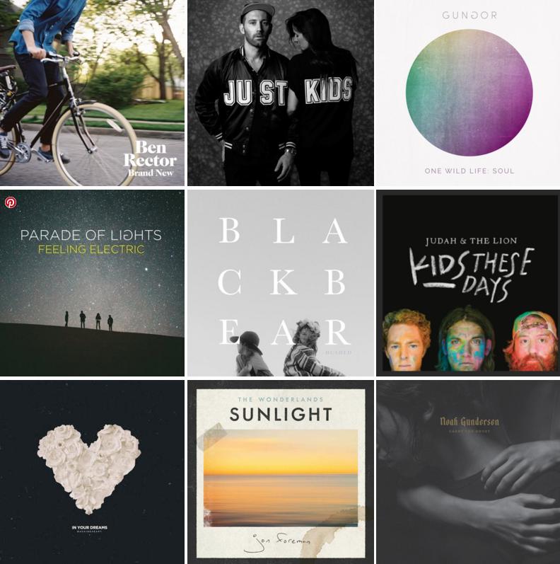 9 ALBUMS I LOVE! //V.1