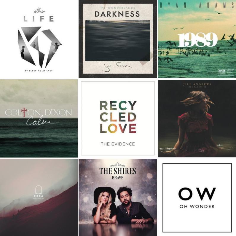 9 ALBUMS I LOVE! //V.2