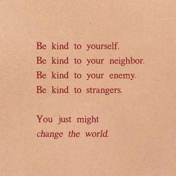 Remember to always be kind.⠀⠀⠀⠀⠀⠀⠀⠀⠀ ⠀⠀⠀⠀⠀⠀⠀⠀⠀ Via @bluemoon_holistic_wellness