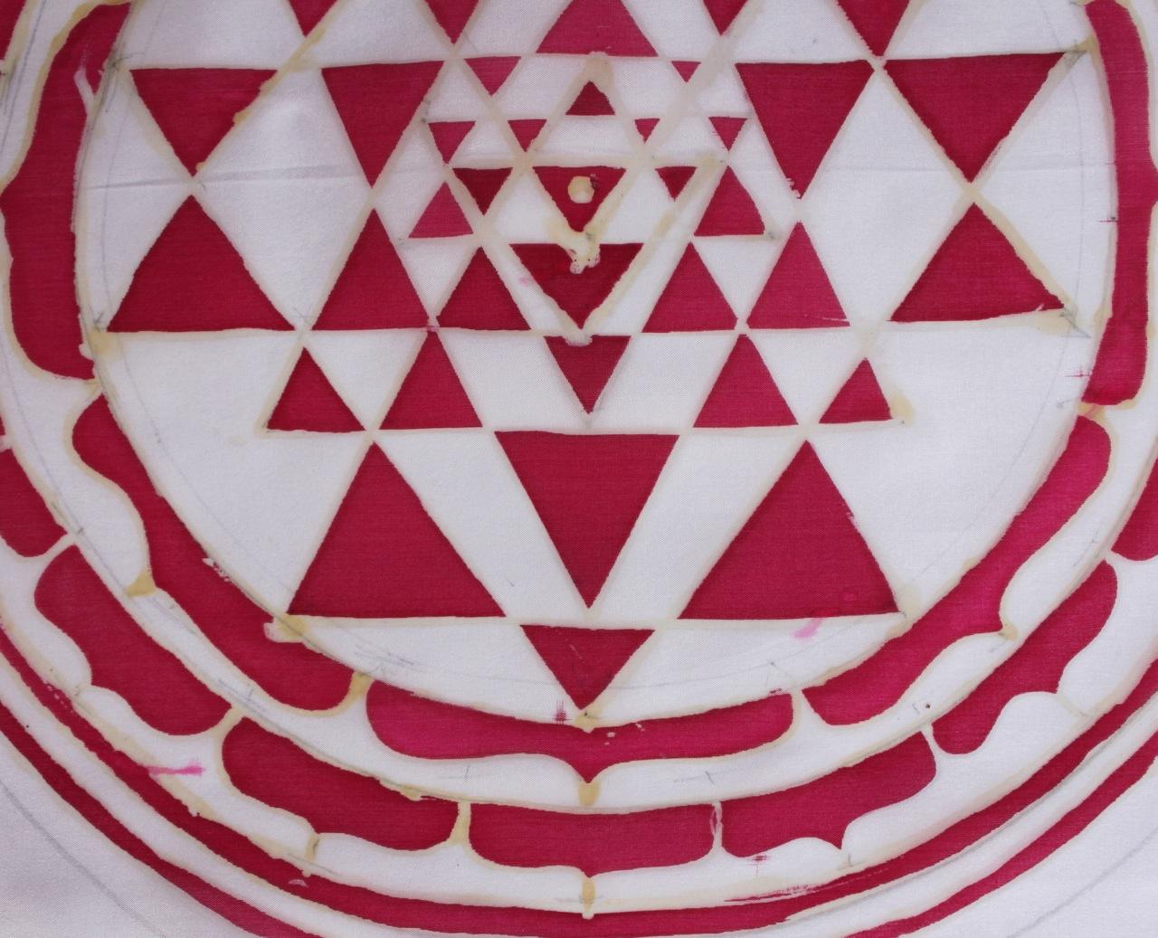 Sri Yantra (detail)