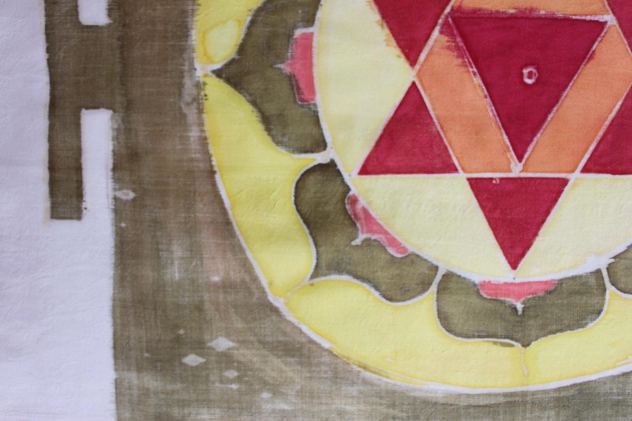Bagalamukhi (detail)