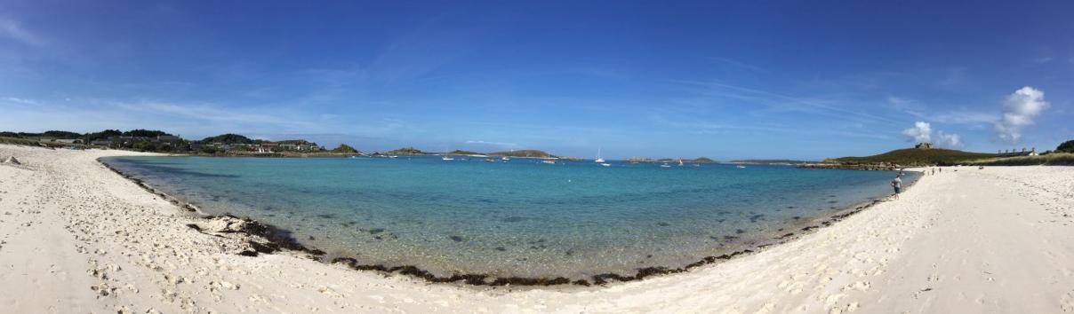 White sandy beaches of Tresco