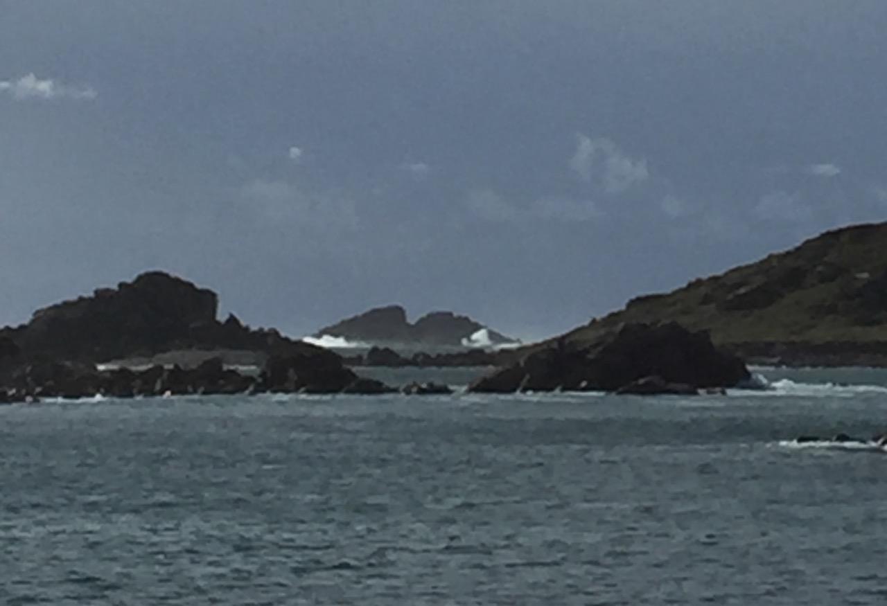 Rough seas gathering on Bryher