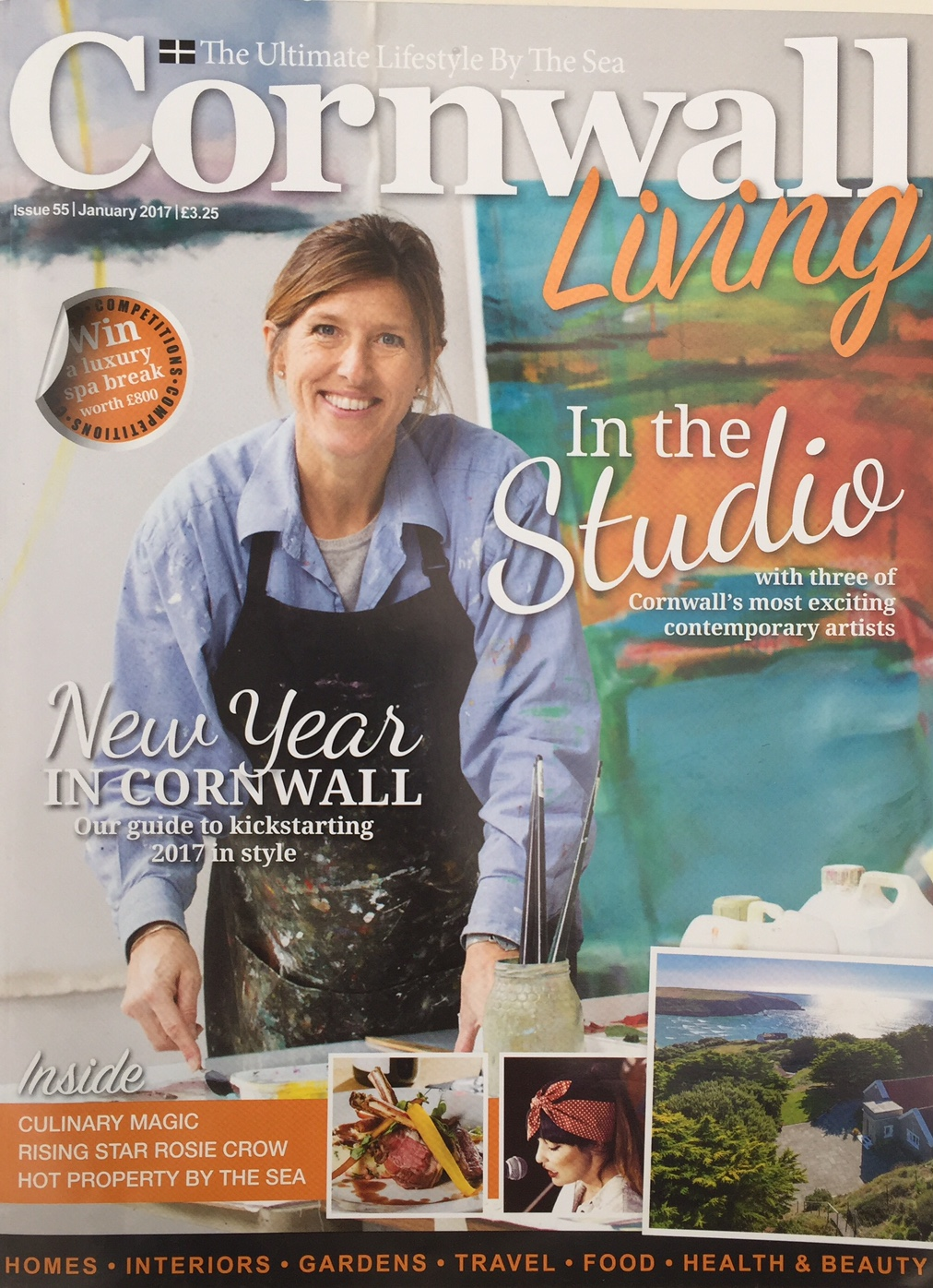 Cornwall Living , January 2017