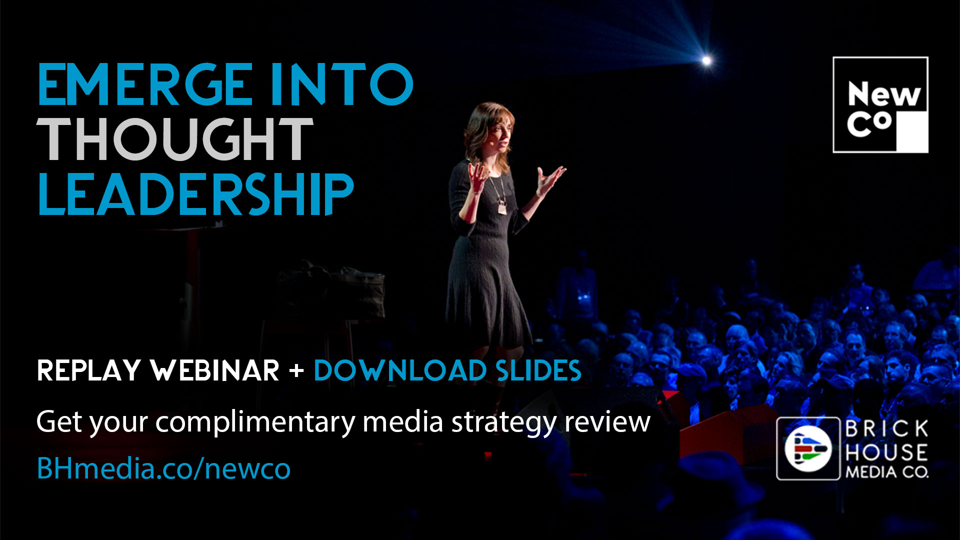 Example offer from the NewCo community - Webinars, downloads and replays for our affiliate communities!