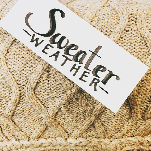 Hello fall! And will fall comes, #sweaterweather