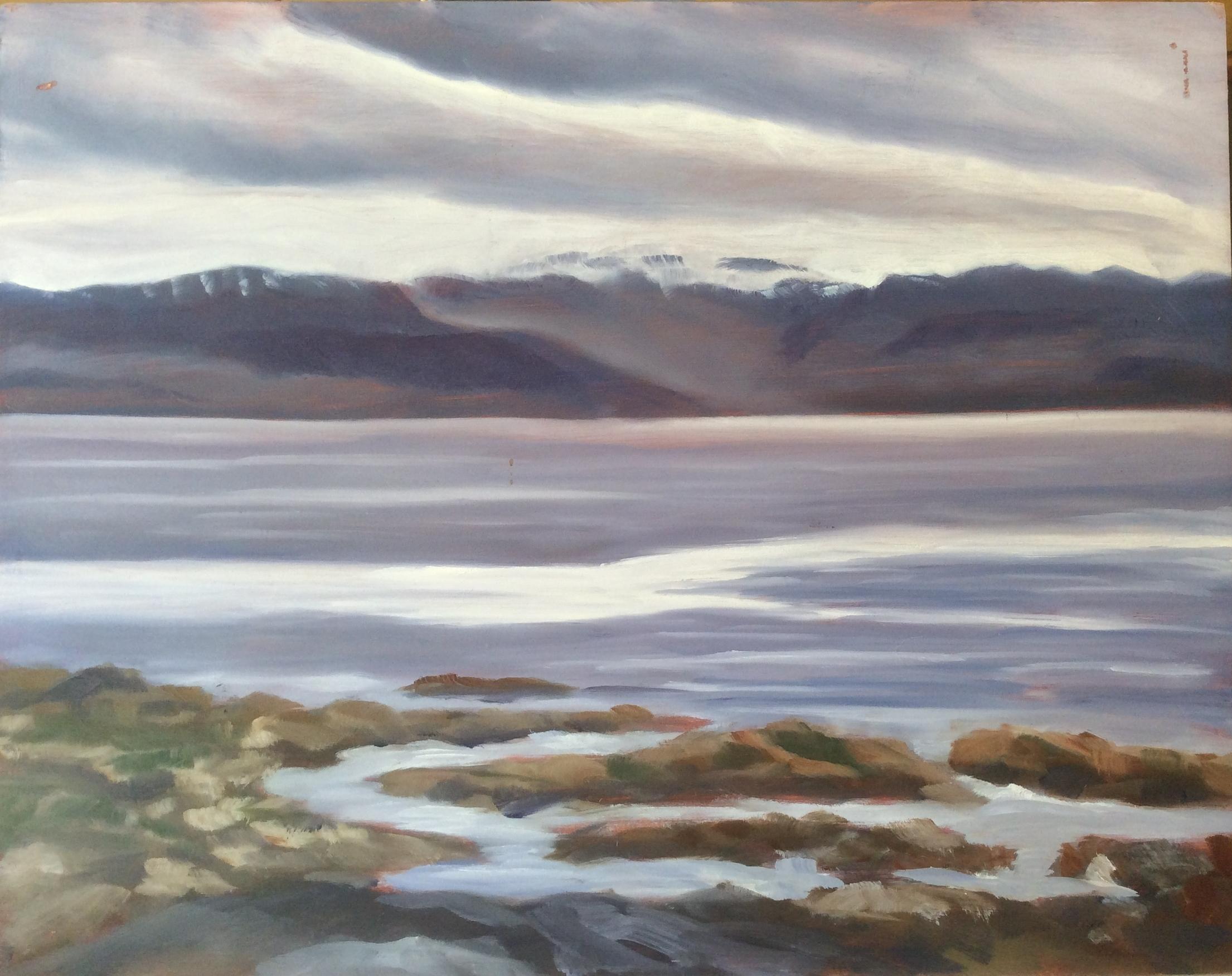 Clover Point    Oil 11 x 14