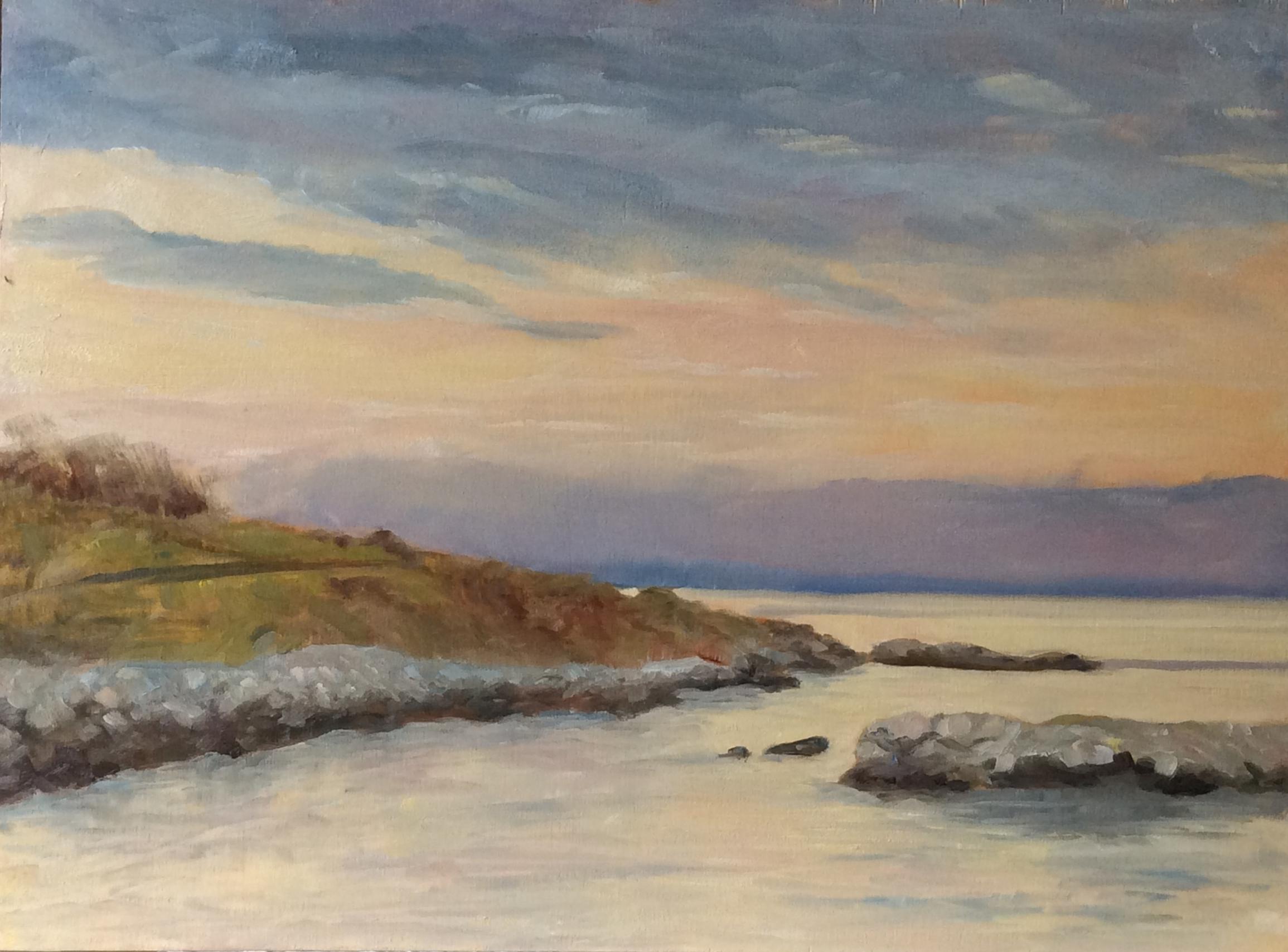 Morning Sky   Oil 12 x 16