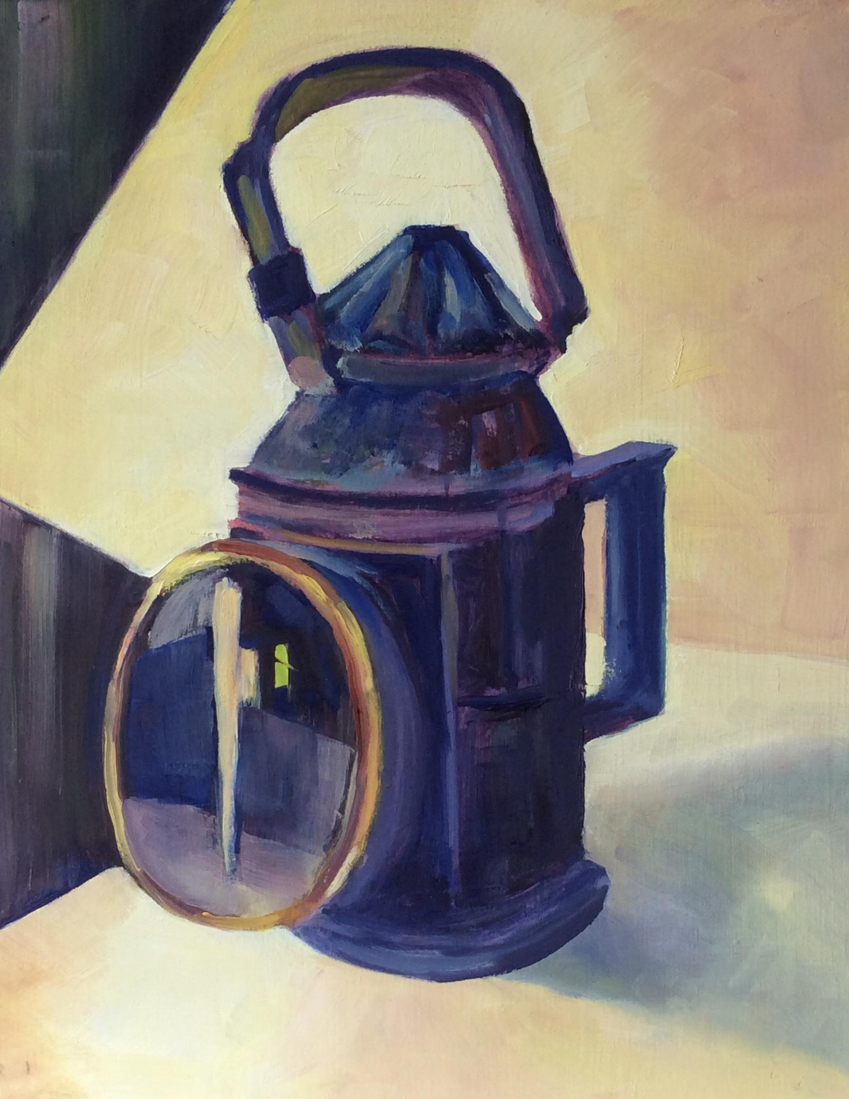 Railway Signal Lantern # 2   Oil 14 x 11