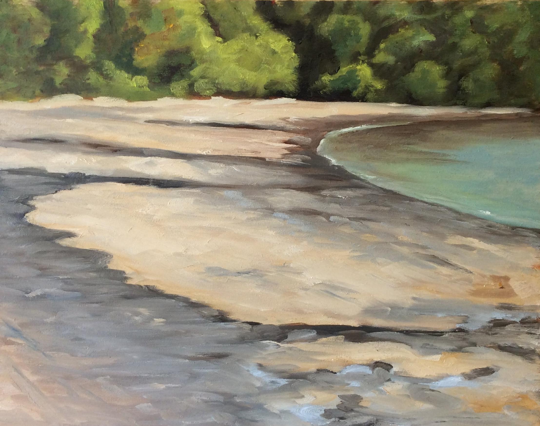 Gyro Beach    Oil 11 x 14