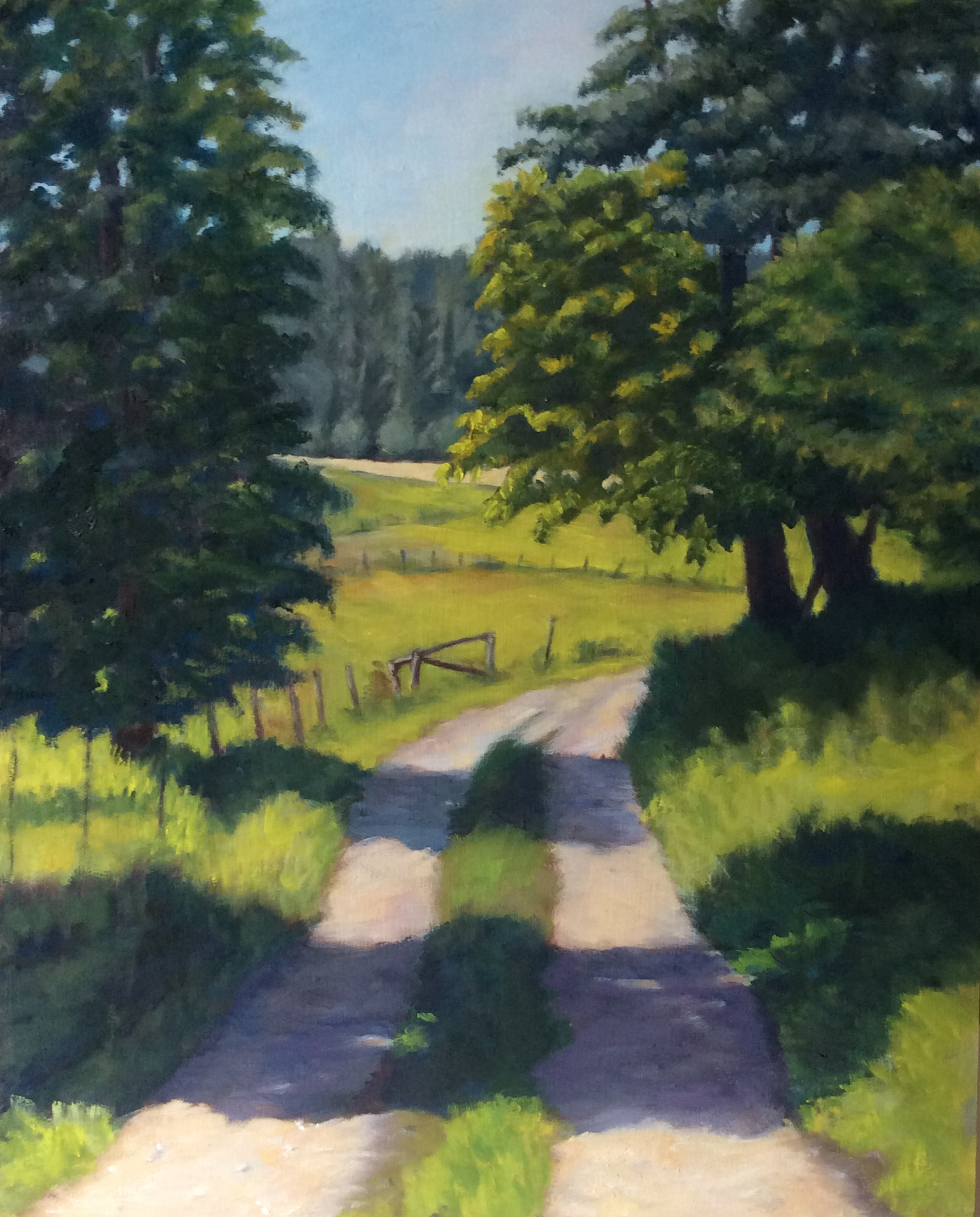 Timber's Roadway   Oil 20 x 16