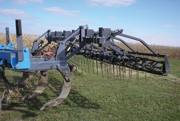 Aerway raised harrow attachment