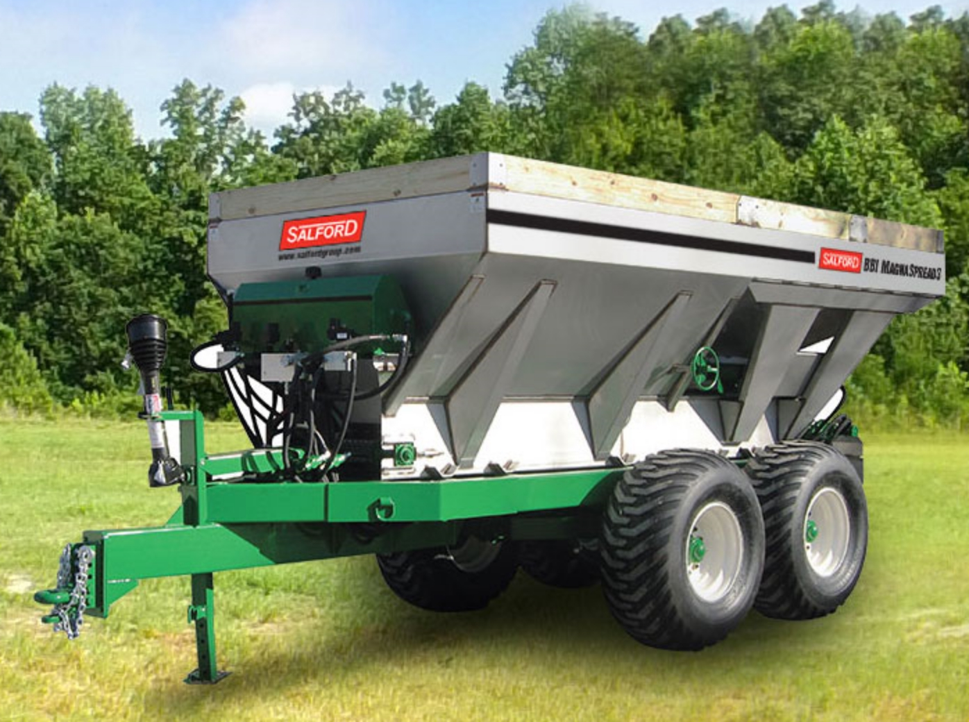 BBI MagnaSpread3 Multi-Bin Dry Broadcast Applicator