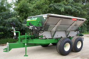 10-12 BBI MagnaSpread Fertilizer Spreader lime spreader