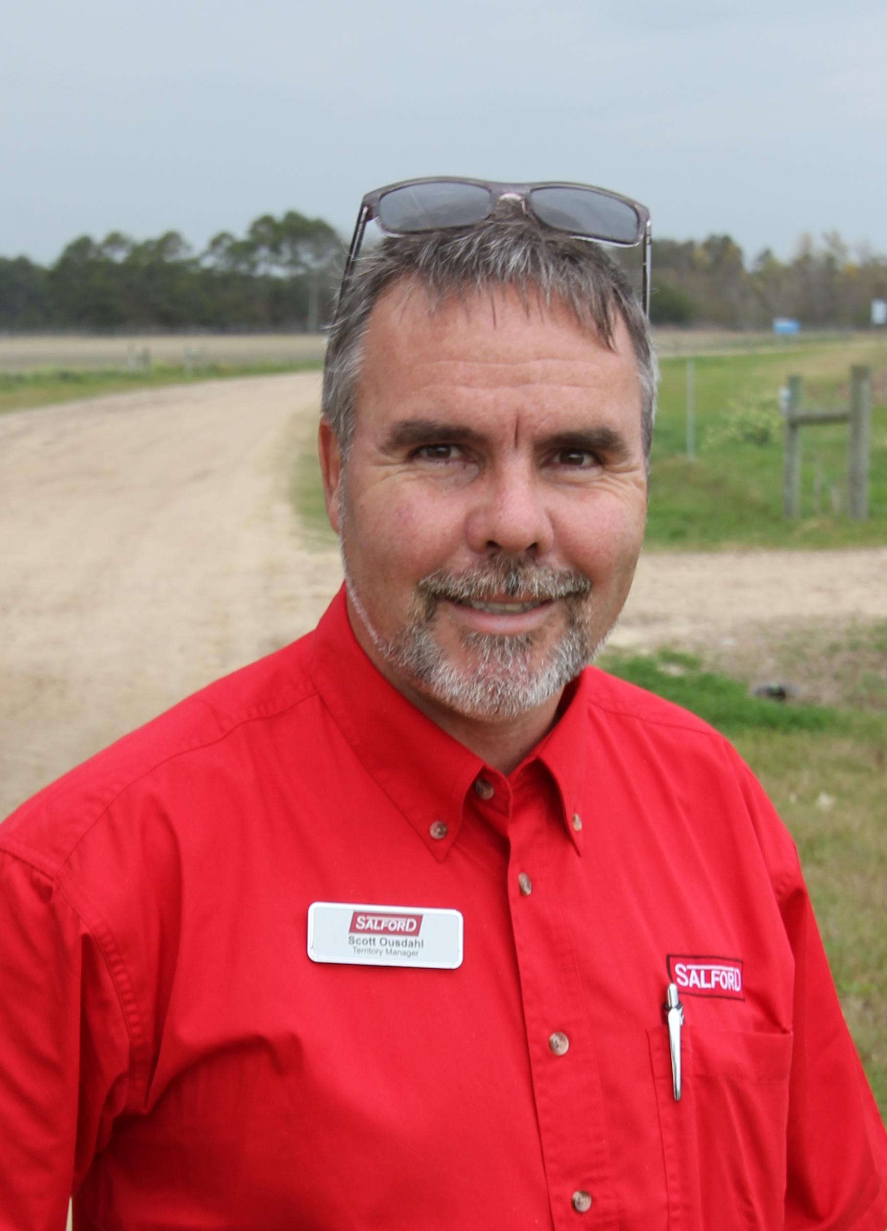 Scott Ouzdahi Salford Group Territory Manager