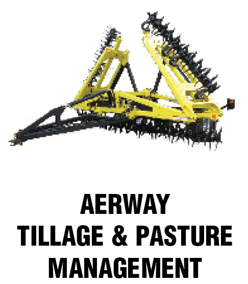 Aerway tillage and pasture management