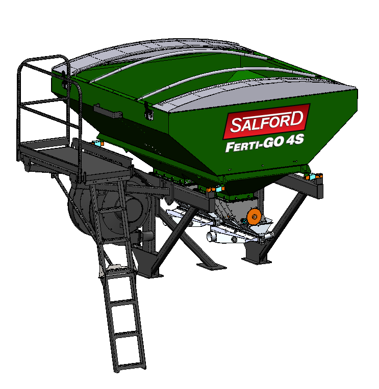 VAlmar St-6 Strip Till granular fertilizer applicator