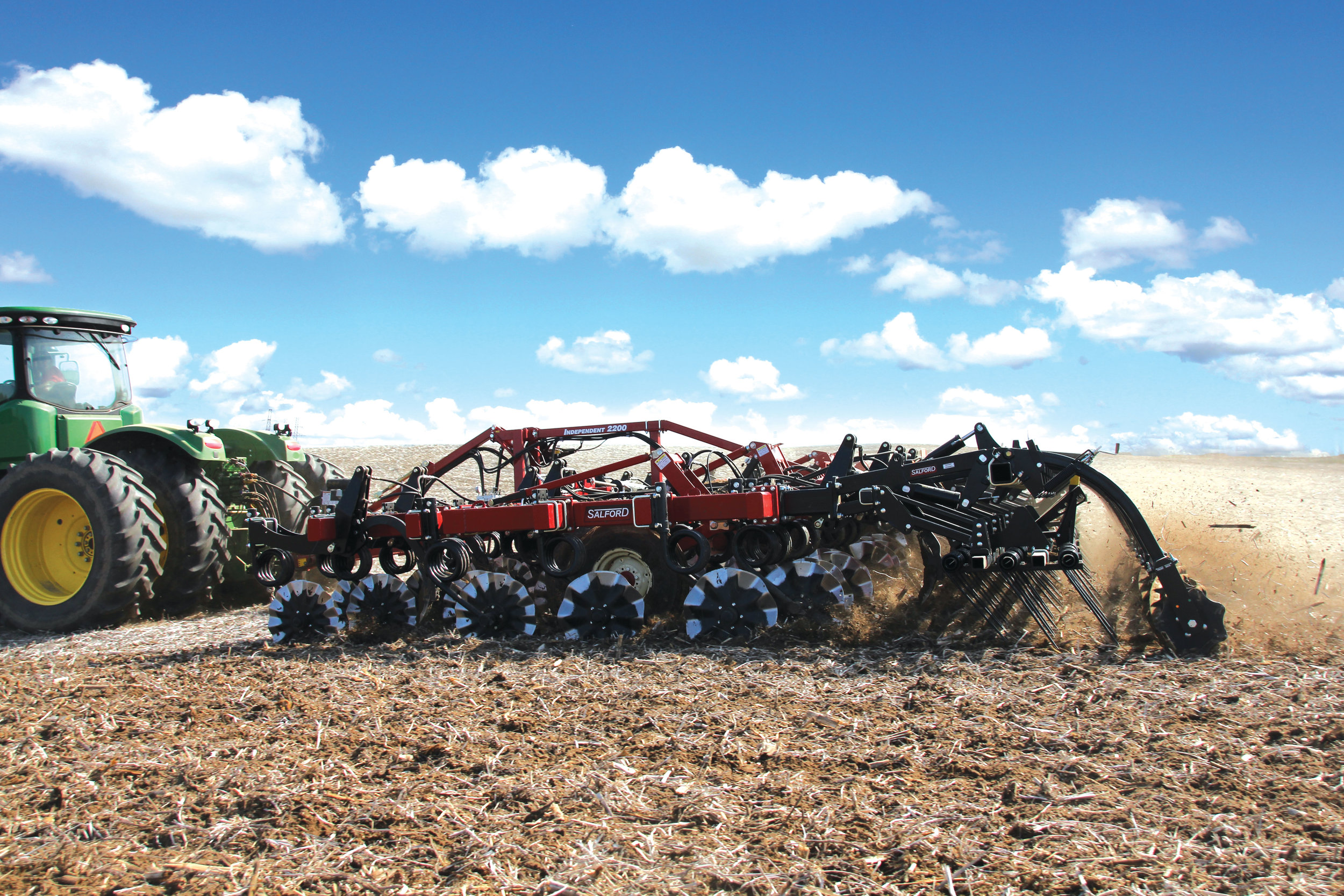 Salford Vertical Tillage I-Series