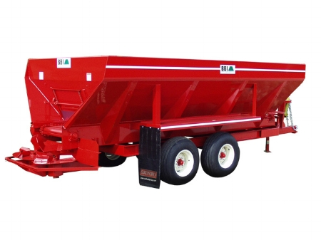 Endurance Mechanical drive litter, / compost spreader