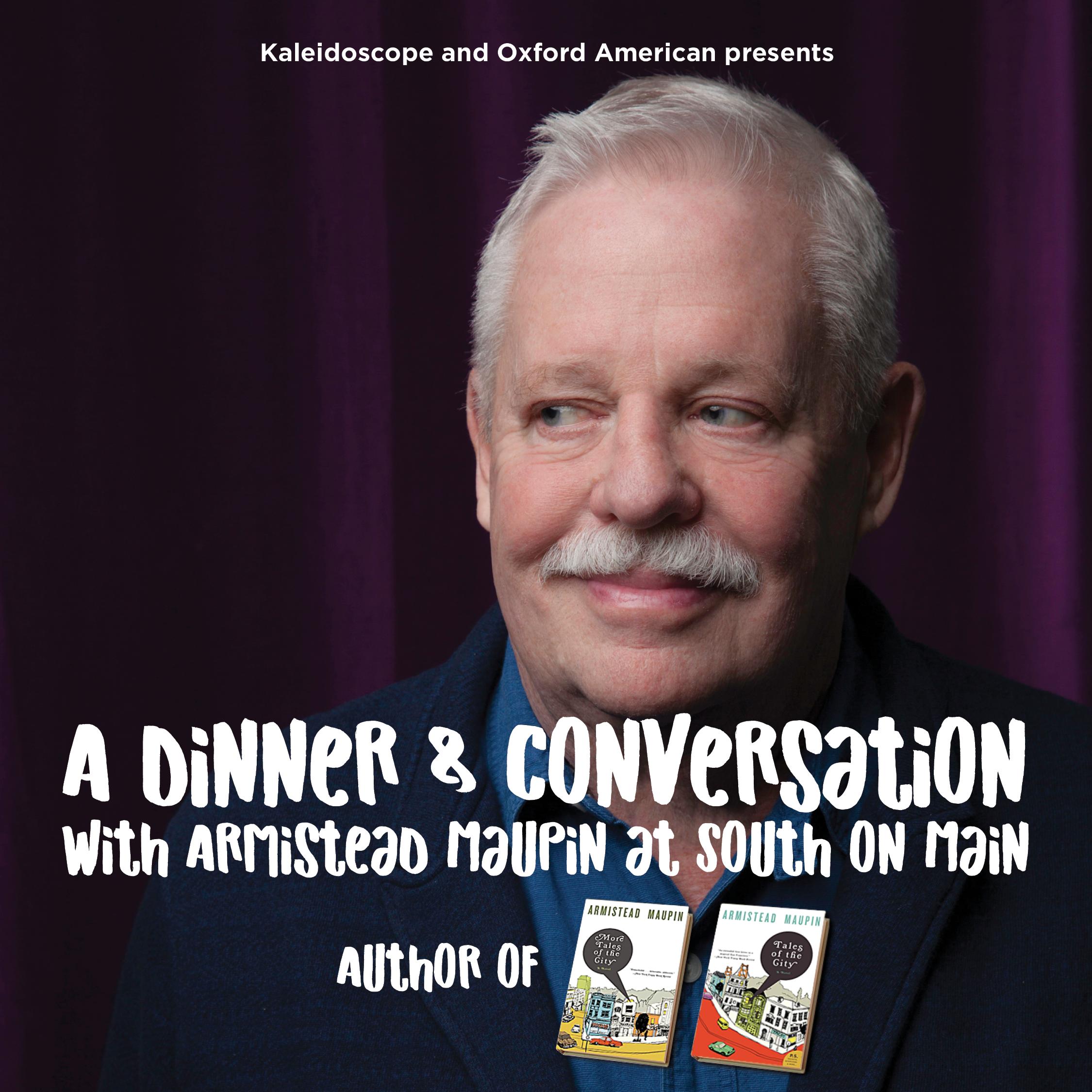 Dinner & Conversation with Armistead Maupin
