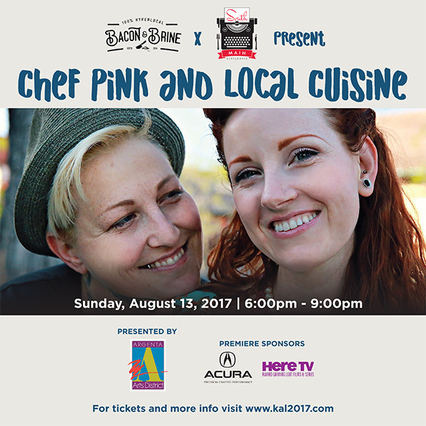 Bacon and Brine x South on Main: Chef Pink and Local Cuisine