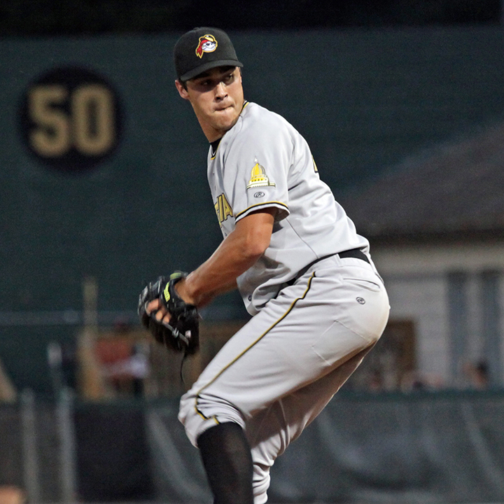 Zack Von Rosenberg   (Born September 24, 1990) He is from Lake Charles, LA. He was selected by the Pittsburgh Pirates in the sixth round of the 2009 First-Year Player Draft Draft out of Zachary (La.) High School, received a $1.2 million signing bonus. He went 11-1 and led the Zachary Broncos to their third straight Class 4A baseball championship with a 5-2 win over top-seeded Sam Houston in Shreveport on May 15, 2009. Also hit .489 with 10 home runs and 45 RBIs during his senior season... released by the Pirates on March 26, 2015.   Source: http://www.piratesprospects.com/zach-von-rosenberg