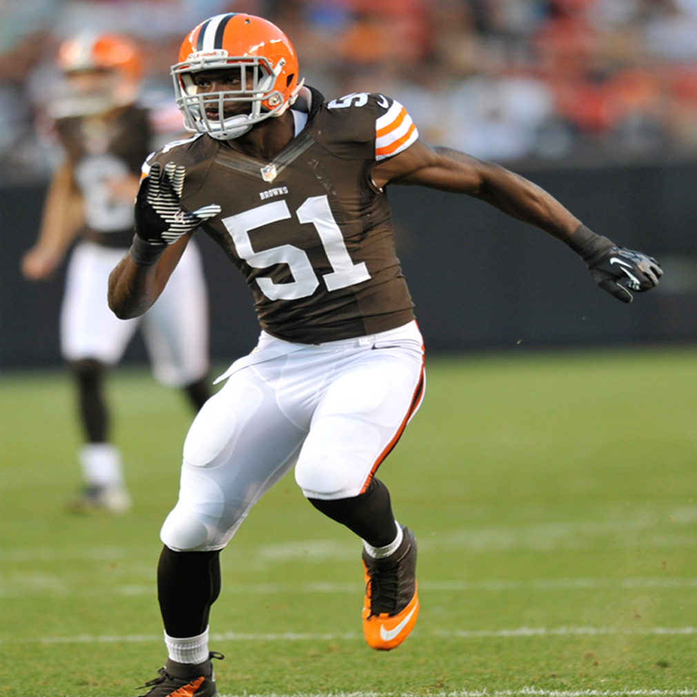 BARKEVIOUS MINGO    NFL Outside Linebacker   Cleveland Browns